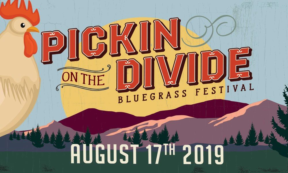 Pickin on the Divide with Mountains and a rooster Aug 17, 2019