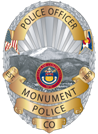 Monument Police Department Badge