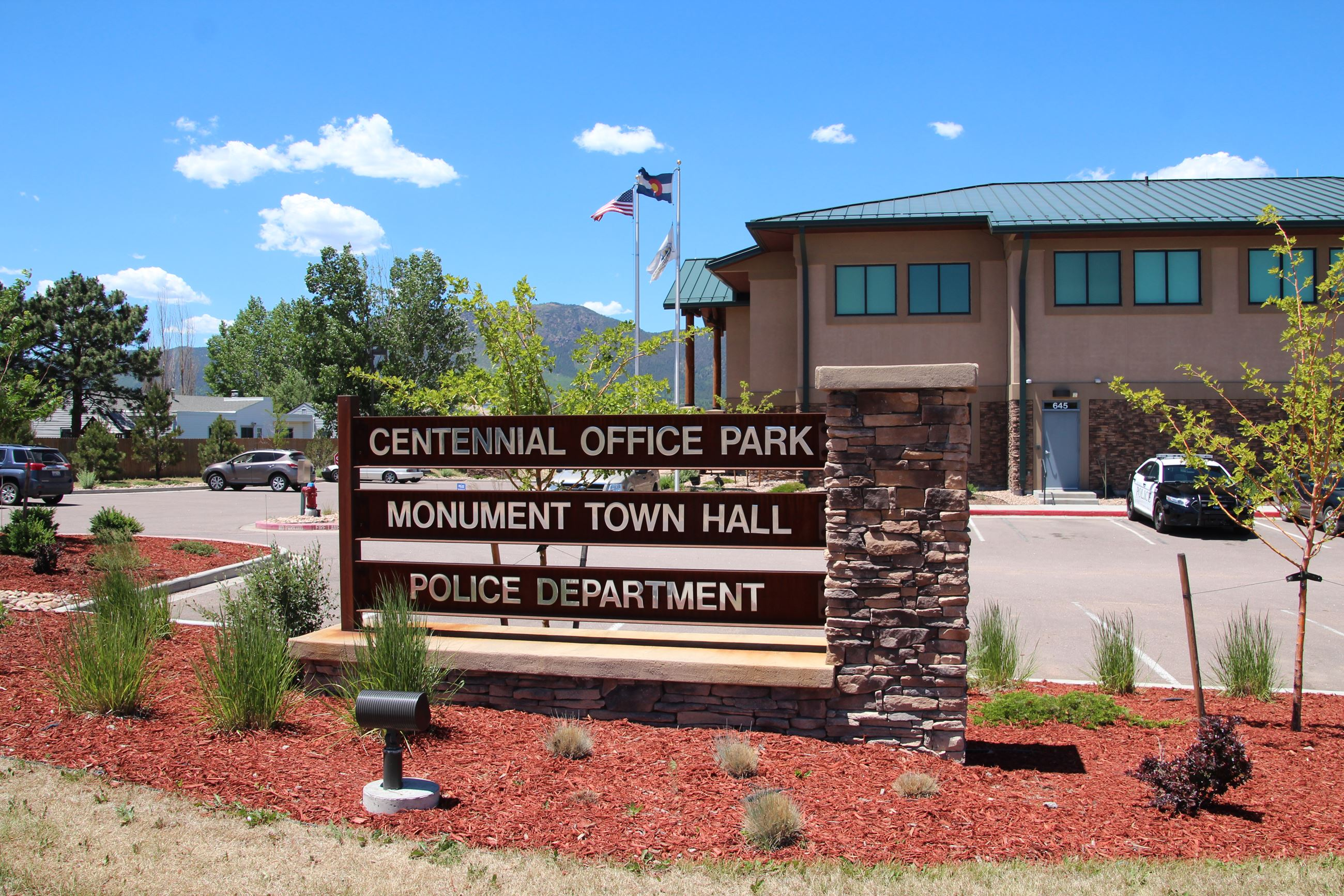 Monument Town Hall & Police Department